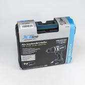 Aku vrtačka s příklepem bezuhlíková 18 V + 2 baterie + kufr